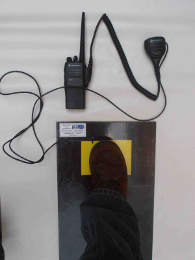PTT foot switch activation PTT radio au pied
